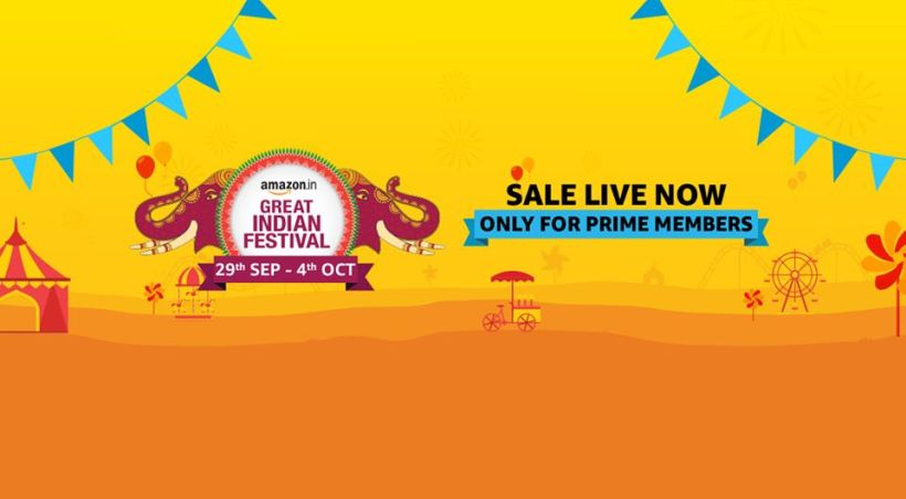Amazon Great Indian Festival Sale 2019 - Dates and Offers