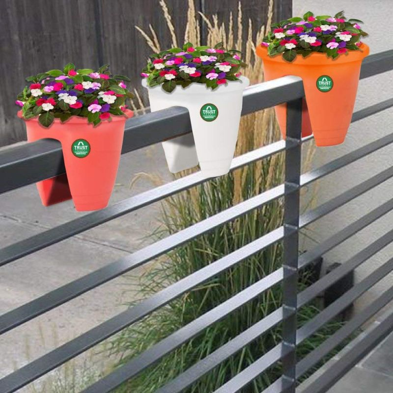 TrustBasket Balcony Railing Planters