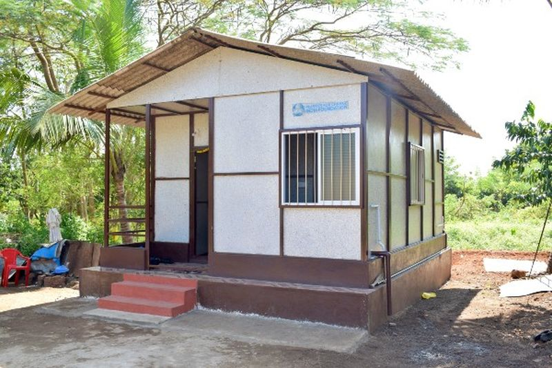 This Recycled Plastic House in Mangaluru, Karnataka