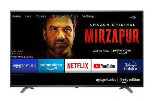Amazon Fire TV Edition Launched in India, Starting from 30K